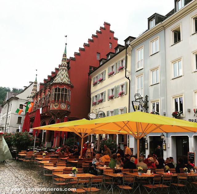 Terrazas en Friburgo | Alsacia y la Selva Negra en autocaravana
