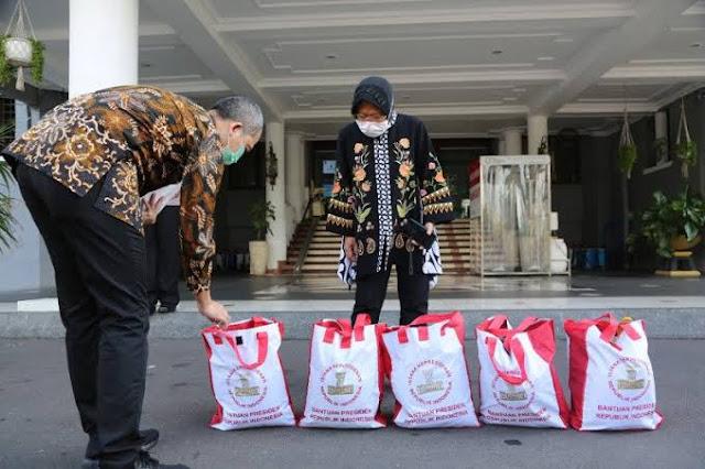 Catatan KPK, Pemkot Surabaya Pimpinan Risma Paling Banyak Dikeluhkan Soal Bansos