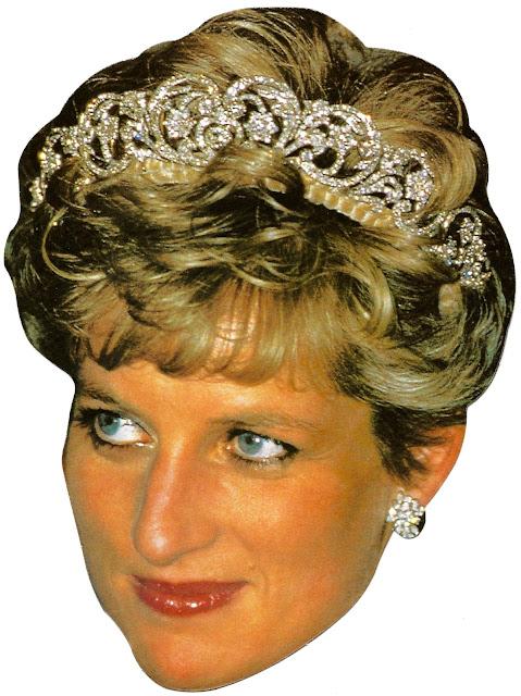 Máscaras de Lady Diana para Imprimir Gratis.