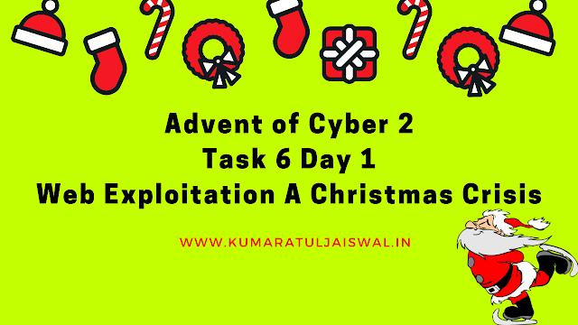TryHackMe Advent of Cyber 2 Day 1 Walkthrough