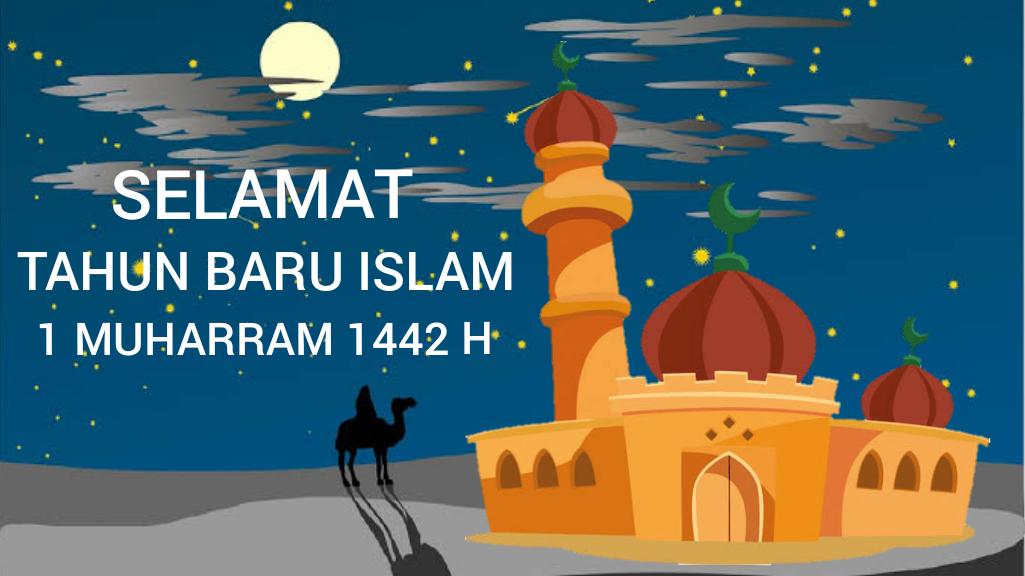 Logo Tahun Baru Islam 1 Muharram 1442 H Galeriku