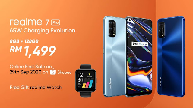 realme 7 Pro, realme 7, Product Availability in Malaysia,  Capture Sharper, Charge Faster, realme, lifestyle