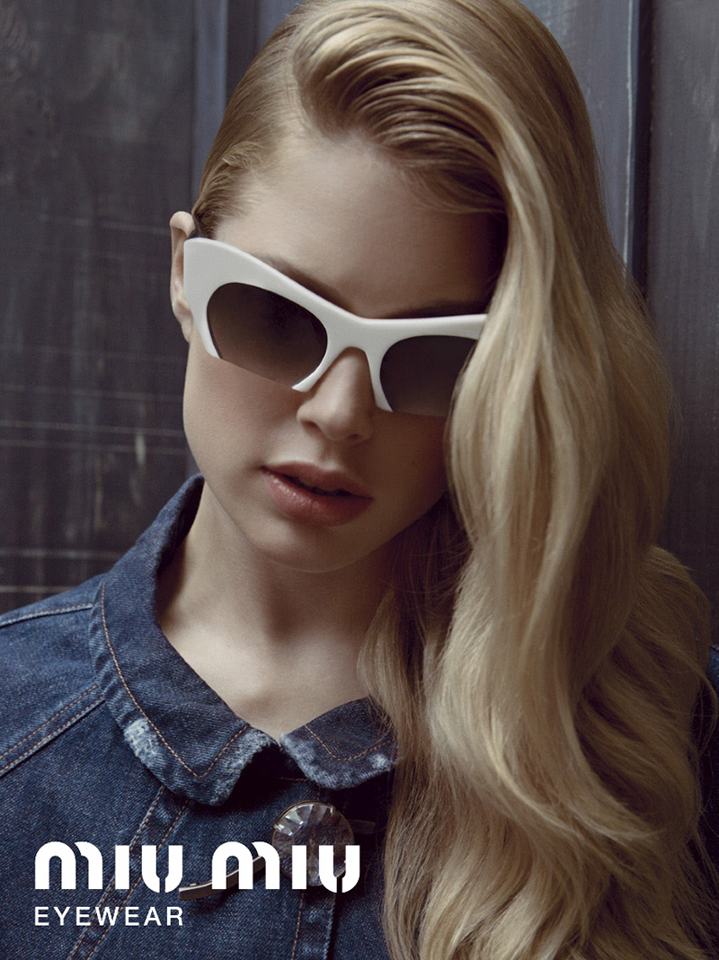 c480696dad These Miu Miu beauties are also available as prescription glasses.