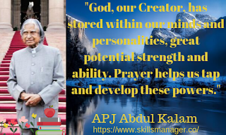 """God, our Creator, has stored within our minds and personalities, great potential strength and ability. Prayer helps us tap and develop these powers."""