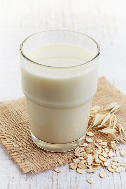 avena con leche desayuno delicioso
