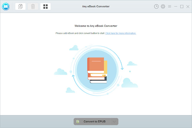 Screenshot Any eBook Converter 1.0.9 Full Version