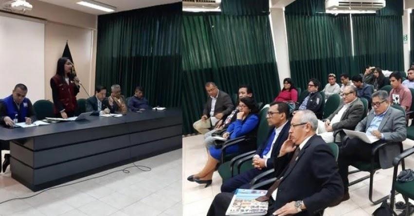 UNPRG: Autoridades y estudiantes de la Universidad Nacional Pedro Ruiz Gallo de Lambayeque acuerdan «abstenerse de cualquier hecho de violencia»