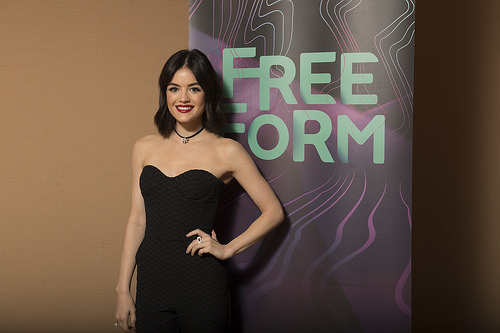 """""""Pretty Little Liars"""" actress Lucy Hale"""