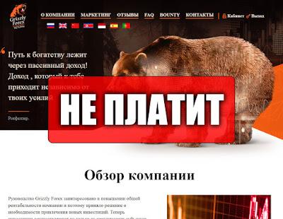 Скриншоты выплат с хайпа grizzlyforexreturn.cc