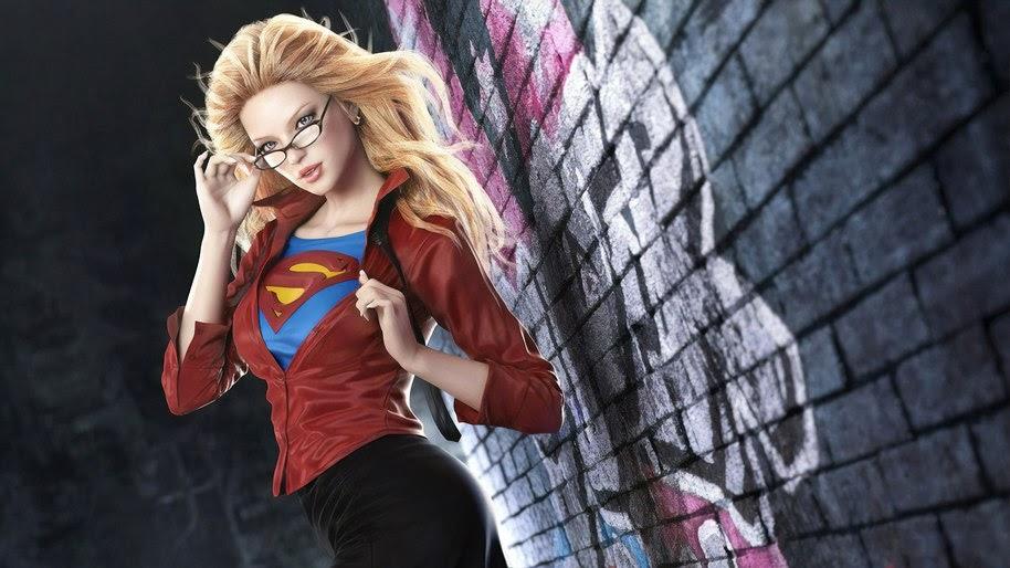 Supergirl, DC, 4K, #239