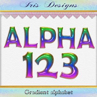 Gradient alphabet
