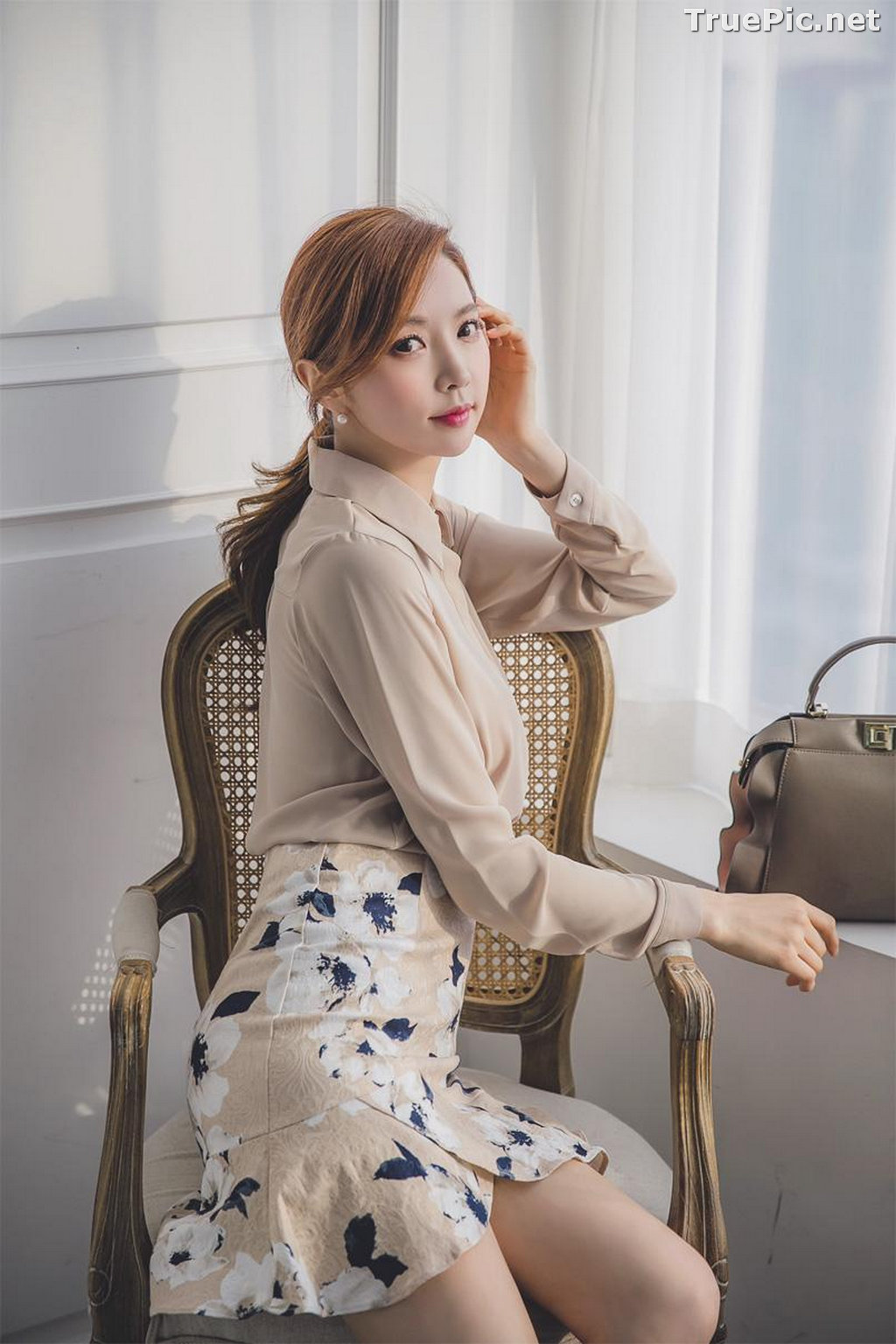 Image Korean Beautiful Model – Park Soo Yeon – Fashion Photography #8 - TruePic.net - Picture-1