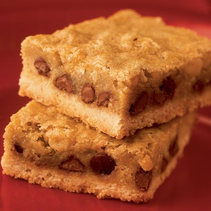 Chewy Chocolate Chip Bars Recipe