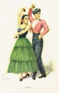 danses espagnoles castagnettes