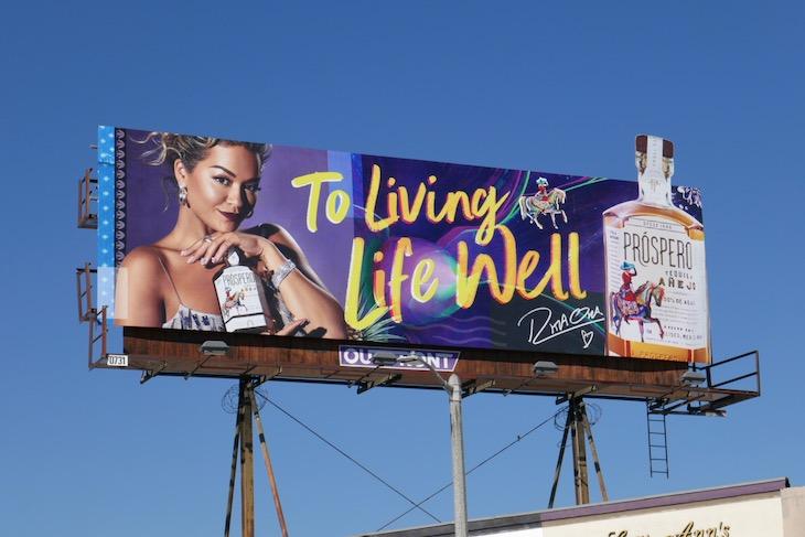 Prospero Tequila Rita Ora billboard