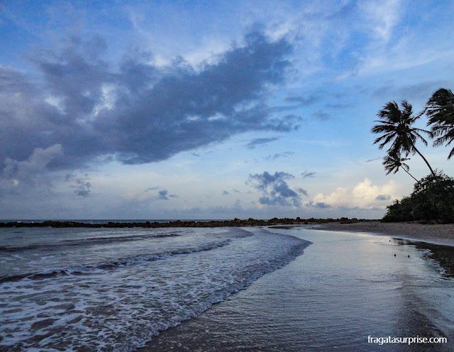 Entardecer na Praia do Coqueirinho, Paraíba