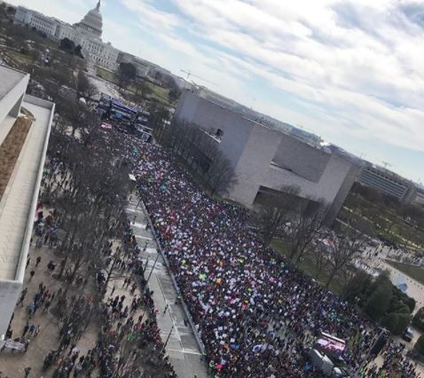 March For Our Lives: Huge gun-control rallies sweep US