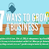 7 Ways to Grow Your Business #infographic