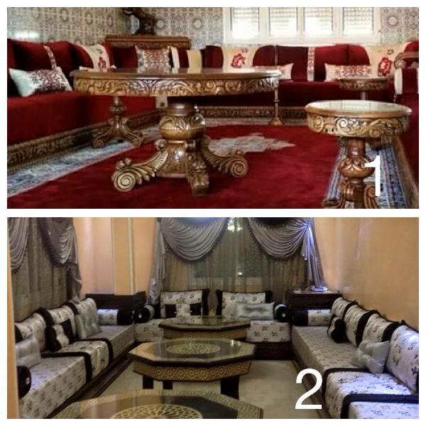 SALON MAROCAIN Site de vente de salons marocains moderne design sur mesure