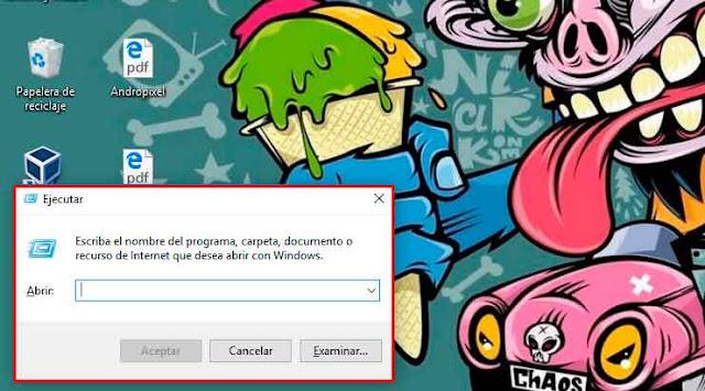 Ingresar a la ventana de ejecución de Windows