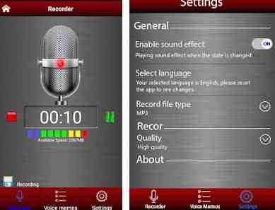 Aplikasi Perekam Suara Terbaik Di Android Area Fokus