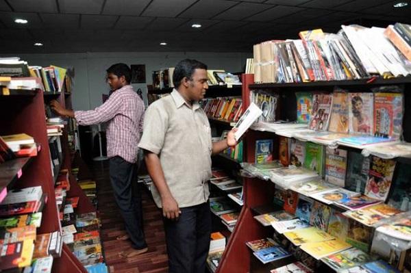 Panuval Tamil Bookstore at thiruvanmiyur chennai