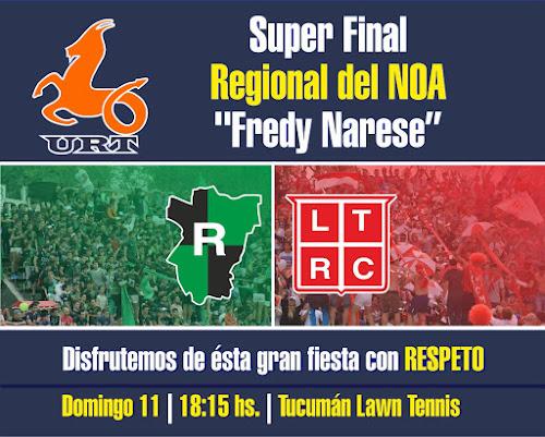 Tucumán Rugby y Los Tarcos definen el Regional del NOA