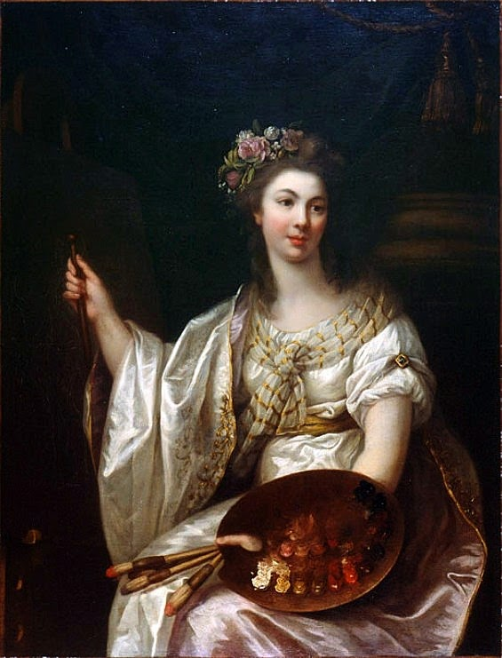 Autoportrait (1780-89), Marie-Victoire Lemoine