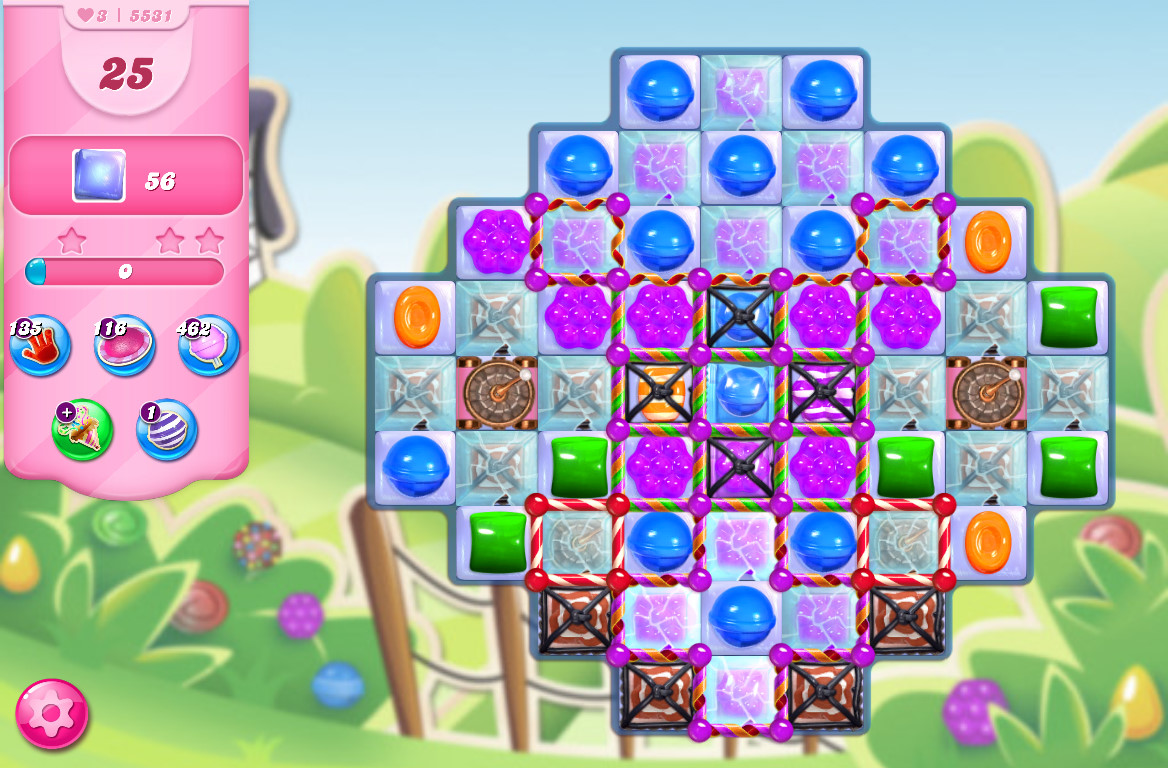Candy Crush Saga level 5531