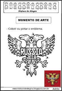 Emblema da Rússia copa mundial