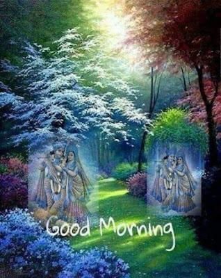 Radha Krishna Good Morning Hd Wallpaper Good Morning Krishna Images