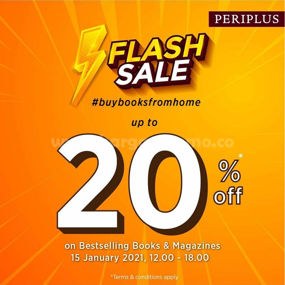 Periplus Promo Flash Sale 20% off on Bestselling Books & Magazines!