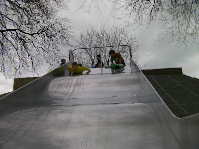 baffins pond copnor portsmouth playpark slide