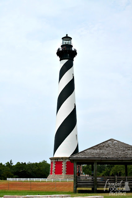 If there could be only one iconic landmark associated with the Outer Banks, it would have to be the Cape Hatteras Lighthouse. Originally built in 1870, the Cape Hatteras Lighthouse is the tallest brick lighthouse in the United States.