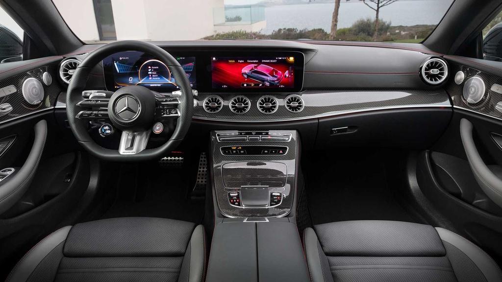 Mercedes-AMG E 53 2021 ra mắt, được nâng cấp kiểu dáng và công nghệ