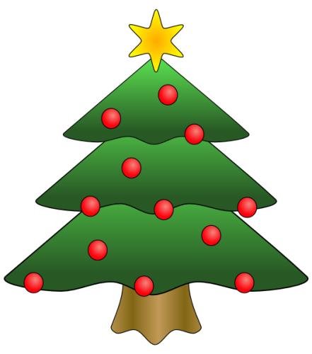 Dibujo arbol navidad para imprimir | Imagenes y dibujos para imprimir