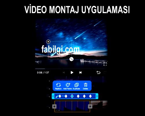 Telefon İçin En İyi Video Montaj Yapma Uygulaması İndir 2021