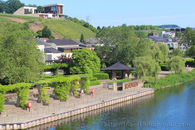 Mosel River Schengen Luxembourg