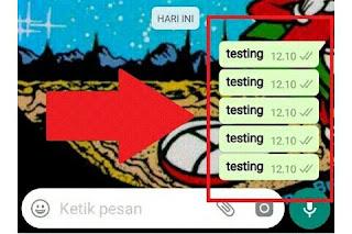 Cara Kirim Pesan Bom Chat Whatsapp Menggunakan Aplikasi Labalabi