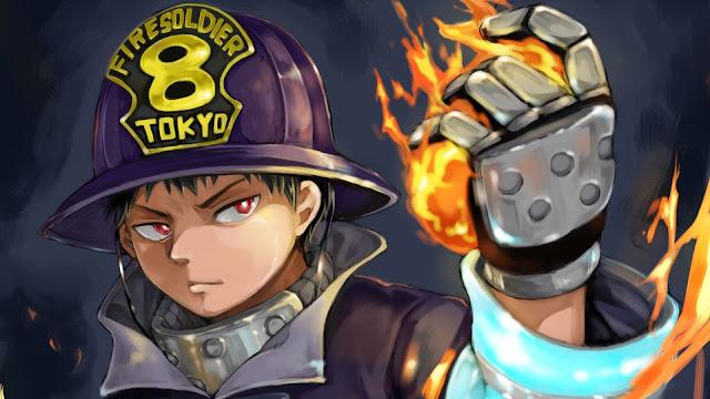 wallpaper fire force shinra kusakabe hd