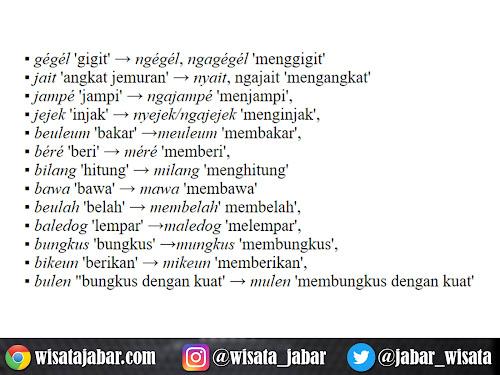 kata dasar dan kata turunan bahasa sunda