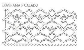 Patron Crochet Imagen Punto fantasía pra faldas y blusas muy fácil y sencillo por Majovel Crochet