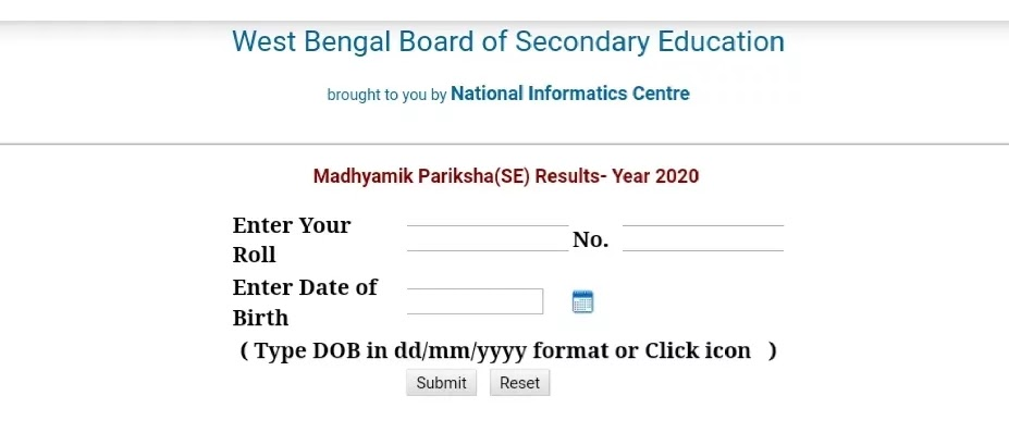 West Bengal (WB) Madhyamik Results 2021 Release (20 July)   Check WBBSE 10th Class Result @wbresults.nic.in