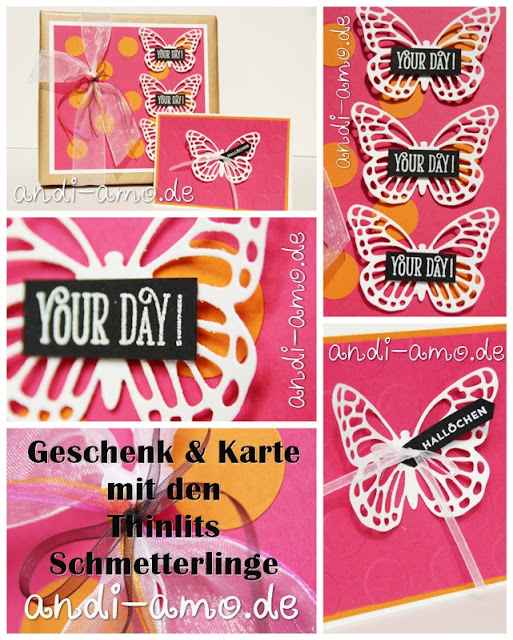 Thinlits Schmetterlinge Stampin Up