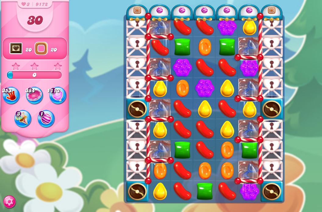 Candy Crush Saga level 9172