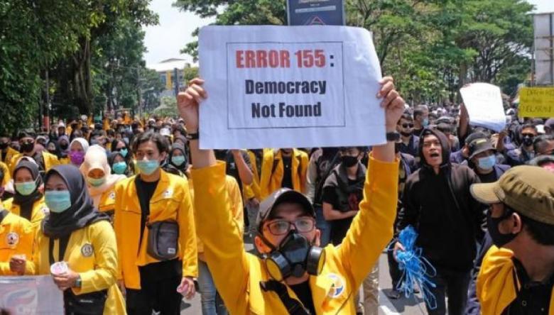 Indeks Demokrasi 2020: Indonesia Catat Skor Terendah dalam 14 Tahun Terakhir