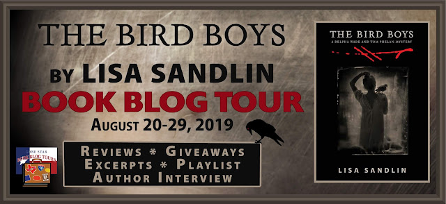 The Bird Boys book blog tour promotion banner