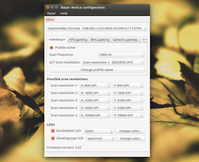 razercfg linux