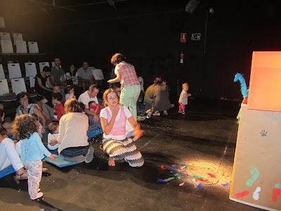 teatro bebés , Angosta Di Mente, teatro