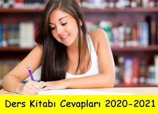 Ders Kitabı Cevapları 2020-2021